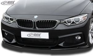 LK Performance RDX Front Spoiler VARIO-X BMW 4-series F32 / F33 / F36 M-Technic Front Lip Splitter - LK Auto Factors