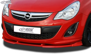 LK Performance RDX Front Spoiler VARIO-X OPEL Corsa D Facelift OPC-Line 2010+ (Fit for OPC-Line and Cars with OPC-Line Frontlip) Front Lip Splitter - LK Auto Factors