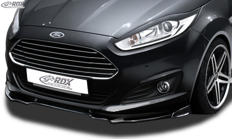 LK Performance RDX Front Spoiler VARIO-X FORD Fiesta MK7 JA8 JR8 (2012+) Front Lip Splitter - LK Auto Factors