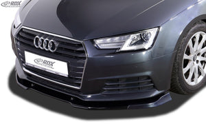 LK Performance ront spoiler VARIO-X AUDI A4 8W B9 front lip front attachment - LK Auto Factors