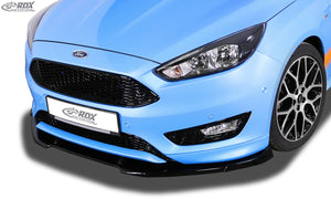 LK Performance RDX Front Spoiler VARIO-X FORD Focus 3 ST-Line 2015+ Front Lip Splitter - LK Auto Factors