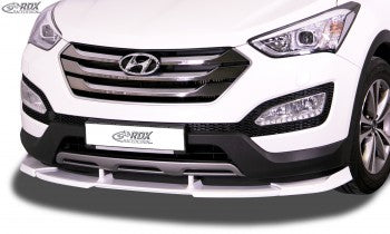 LK Performance front spoiler VARIO-X HYUNDAI Santa Fe (DM) 2012-2015 front lip front attachment front spoiler lip - LK Auto Factors