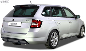 LK Performance RDX rear bumper extension SKODA Fabia 3 (NJ) Combi / StationWagon Diffusor - LK Auto Factors