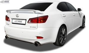 LK Performance RDX Rear Spoiler LEXUS IS (XE2) - LK Auto Factors