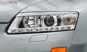 LK Performance headlight spoilers Audi A6 4F facelift 2008-2011 Evil eye - LK Auto Factors