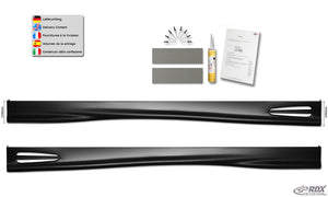 "LK Performance side skirts AUDI A3 8V, 8VA Sportback, 8VS sedan ""GT-Race"" - LK Auto Factors"