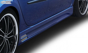 "LK Performance RDX Sideskirts RENAULT Clio 3 Phase 1 / 2 (not RS) ""GT-Race"" - LK Auto Factors"