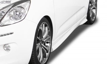 "LK Performance side skirts MERCEDES A-Class W177 / V177 ""Slim"" - LK Auto Factors"