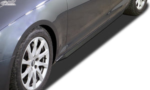 "LK Performance side skirts AUDI A4 8W B9 ""Slim"" - LK Auto Factors"