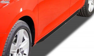 "LK Performance side skirts CHEVROLET Aveo (T300) ""Slim - LK Auto Factors"