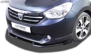 LK Performance RDX Front Spoiler VARIO-X DACIA Lodgy Front Lip Splitter - LK Auto Factors