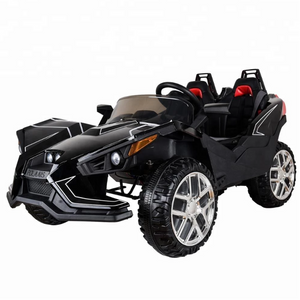 Polaais Style 12V Kids Ride on Car ATV Buggy with Parental Remote - Black - LK Auto Factors