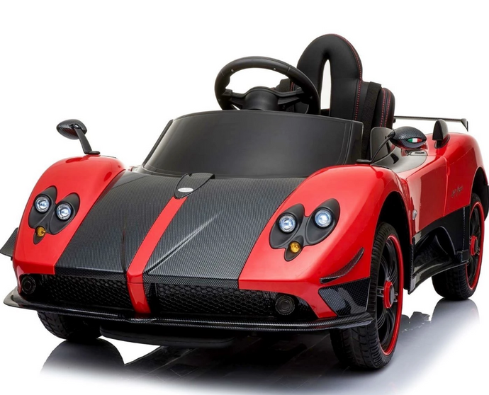 Licensed Pagani Zonda Cinque Roadster 12v Ride on Car With Remote Control - Red - LK Auto Factors