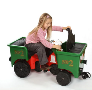 Pedal Coal Truck add on for Little Play Train Engine - Green