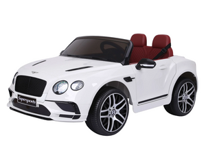 Bentley Continental Super Sports Ride on Car - 12V 2WD White