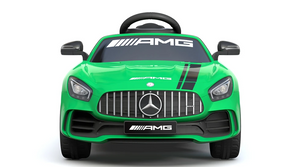 Mercedes Benz GTR AMG Licensed 6V 7A Battery Powered Kids Electric Ride On Toy Car Green