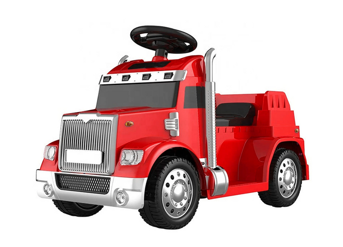 Kids Electric Ride on Truck - 6V Red