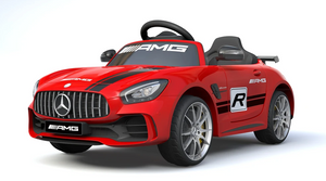 Mercedes Benz GTR AMG Licensed 6V 7A Battery Powered Kids Electric Ride On Toy Car Red