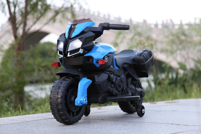 KTM Duke Style Ride On Motorbike/Trike - 6V Blue