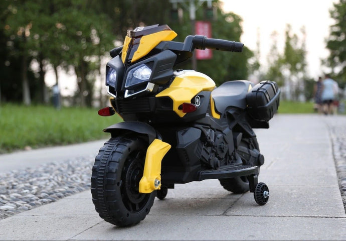 KTM Duke Style Ride On Motorbike/Trike - 6V  Yellow