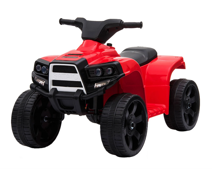 Renegade Rider 6V Electric Quad Motorbike In Red