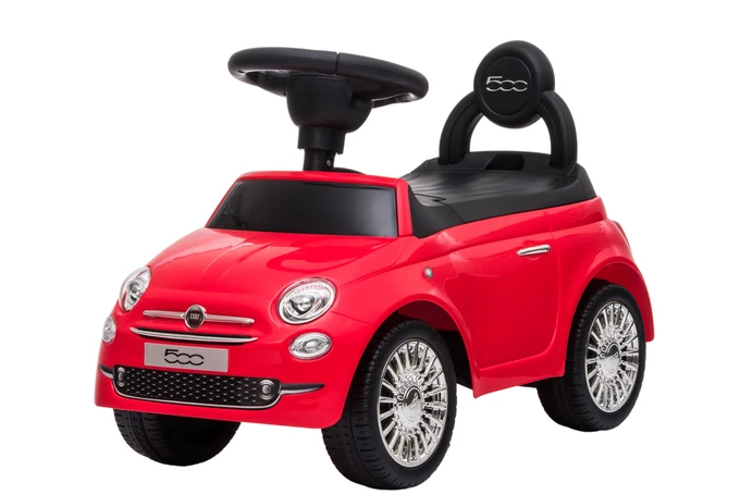 Fiat 500 Push Along Kids Ride on Electric Car