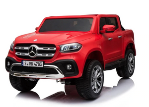 Mercedes Benz X Class Licensed 24v Electric 2 Seat Kids Ride On Jeep EVA Rubber Wheels 4 Wheel Drive