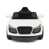 Predatour Audi Style 12v kids Ride on Electric Car with Remote - White - LK Auto Factors