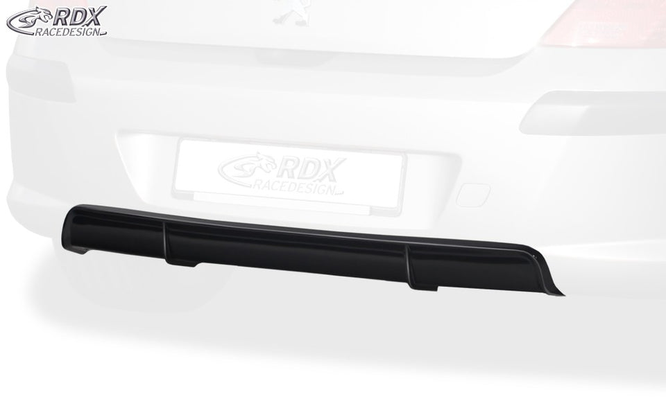 LK Performance RDX rear bumper extension PEUGEOT 308 Phase 1 Diffusor - LK Auto Factors