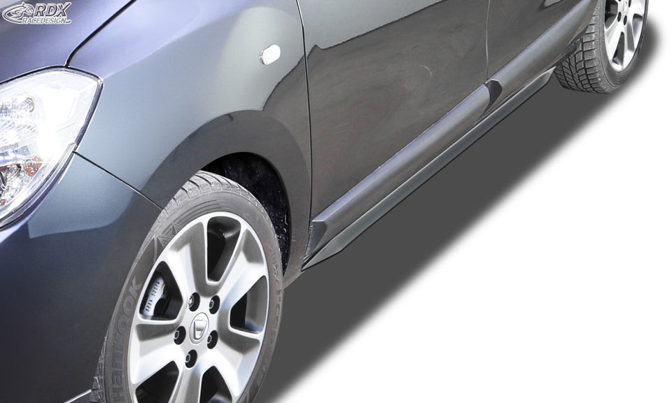 "LK Performance RDX Sideskirts DACIA Lodgy ""Slim"" - LK Auto Factors"
