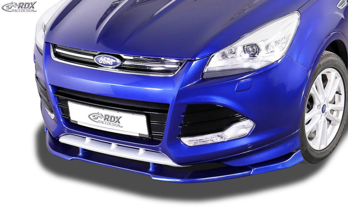 LK Performance RDX Front Spoiler VARIO-X FORD Kuga Individual / ST-Line 2013-2016 Front Lip Splitter - LK Auto Factors