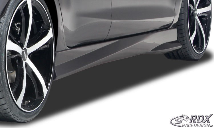 "LK Performance RDX Sideskirts FORD Fiesta MK7 JA8 JR8 (2008-2012 & 2012+) ""Turbo-R"" - LK Auto Factors"