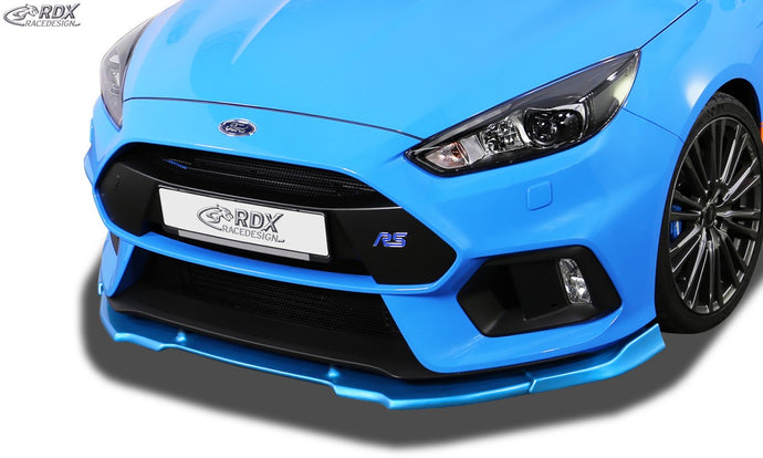 LK Performance RDX Front Spoiler VARIO-X FORD Focus 3 RS (2016+) Front Lip Splitter - LK Auto Factors