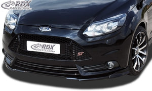 LK Performance RDX Front Spoiler VARIO-X FORD Focus 3 ST (2012+) Front Lip Splitter - LK Auto Factors