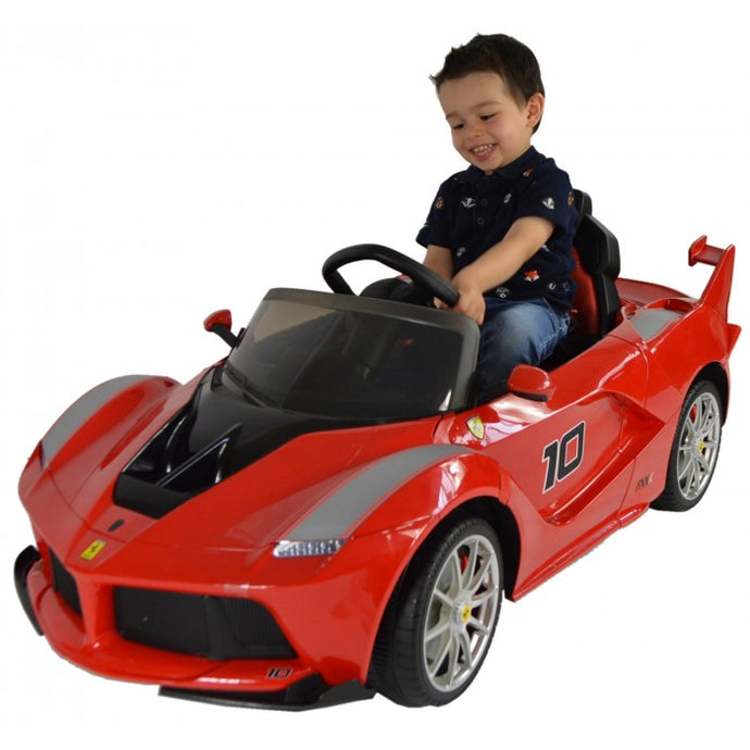 Licensed Ferrari LaFerrari FXX K 12V Battery Kids Electric Ride on Car - LK Auto Factors