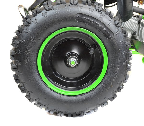 49cc LK Performance Kids Petrol ATV Quad Bike Big Wheels & Racing Tyres - LK Auto Factors