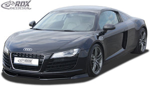 LK Performance front spoiler VARIO-X AUDI R8 / R8 Spyder front lip front attachment front spoiler lip - LK Auto Factors