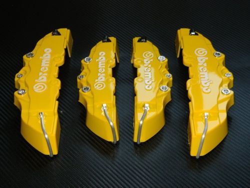 Brembo YELLOW Brake Caliper Covers - LK Auto Factors