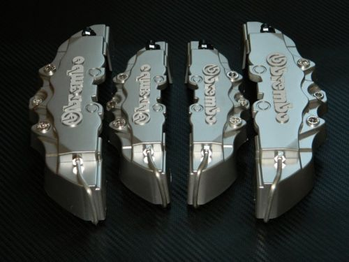 Brembo SILVER Brake Caliper Covers Kit - LK Auto Factors