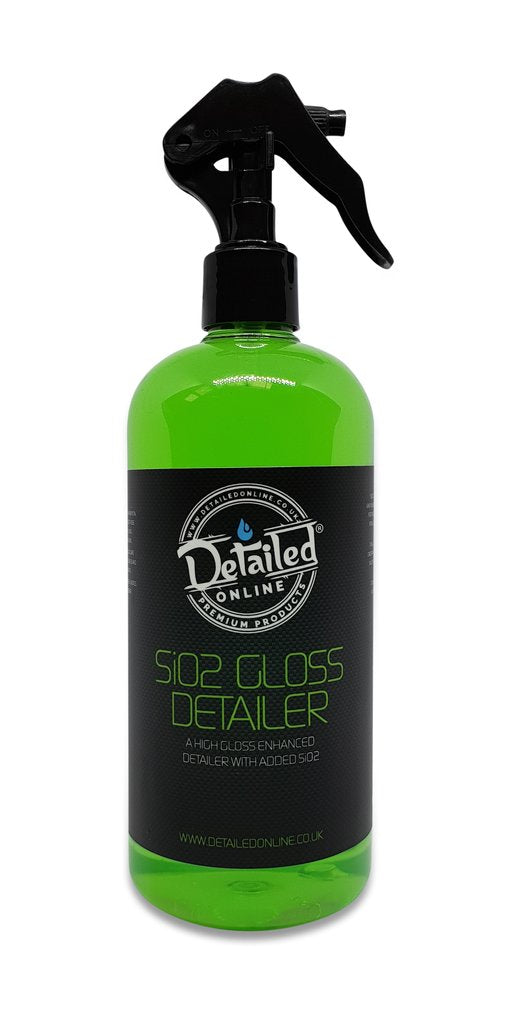 Sio2 Gloss Detailer High Gloss Detailer Infused - LK Auto Factors