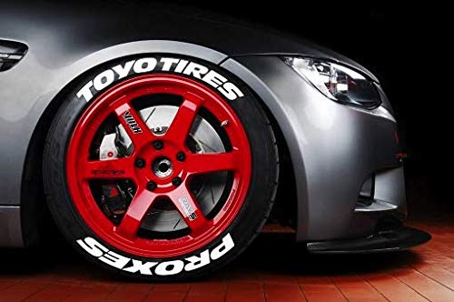 LK Performance Genuine Rubber Raised Toyo Tyre Sticker Decal Vinyl - LK Auto Factors