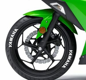 LK Performance Genuine Rubber Raised Yamaha Letters - LK Auto Factors