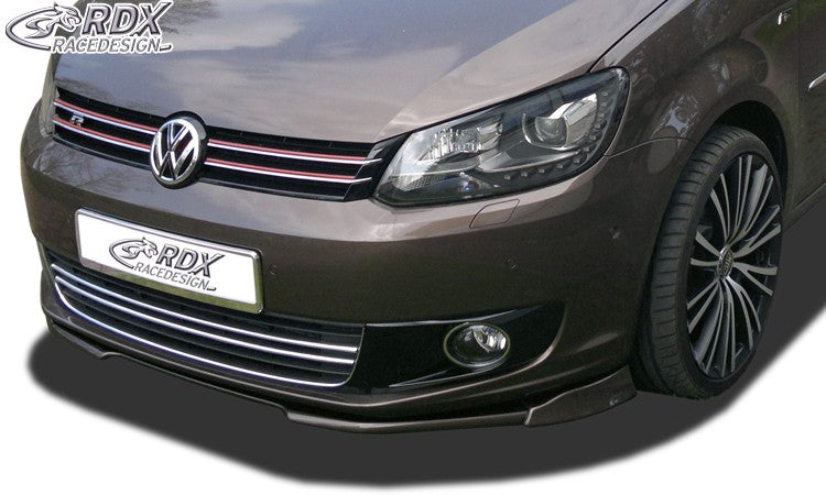 LK Performance Front Spoiler VARIO-X VW Touran 2011+ / Caddy Front Lip Splitter - LK Auto Factors