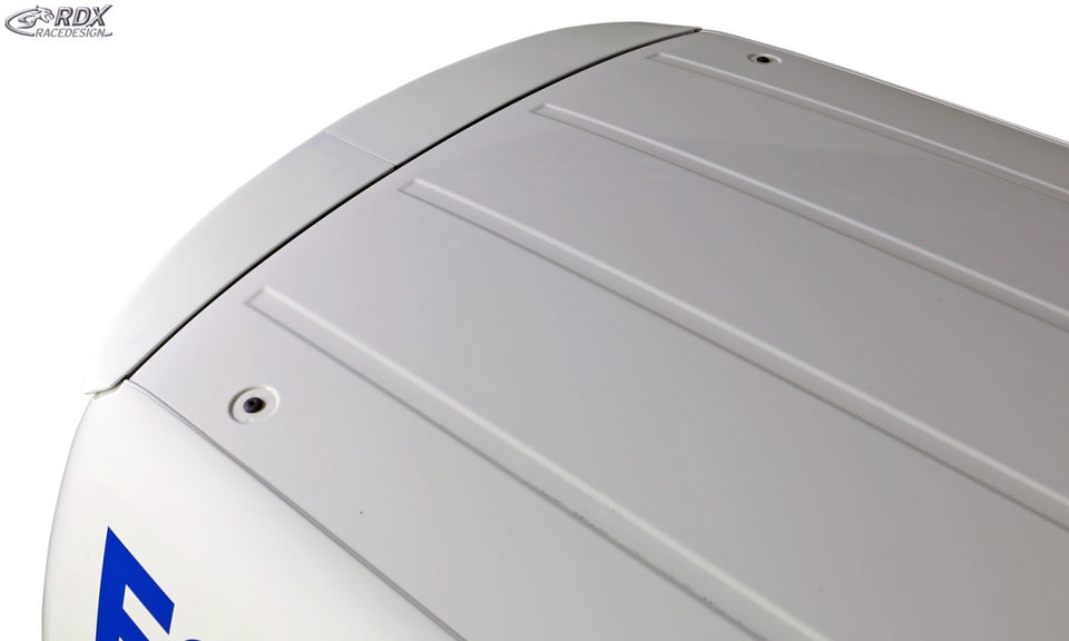 LK Performance Roof Spoiler VW Caddy 1T / 2K Barn Door (2 Rear Doors) - LK Auto Factors