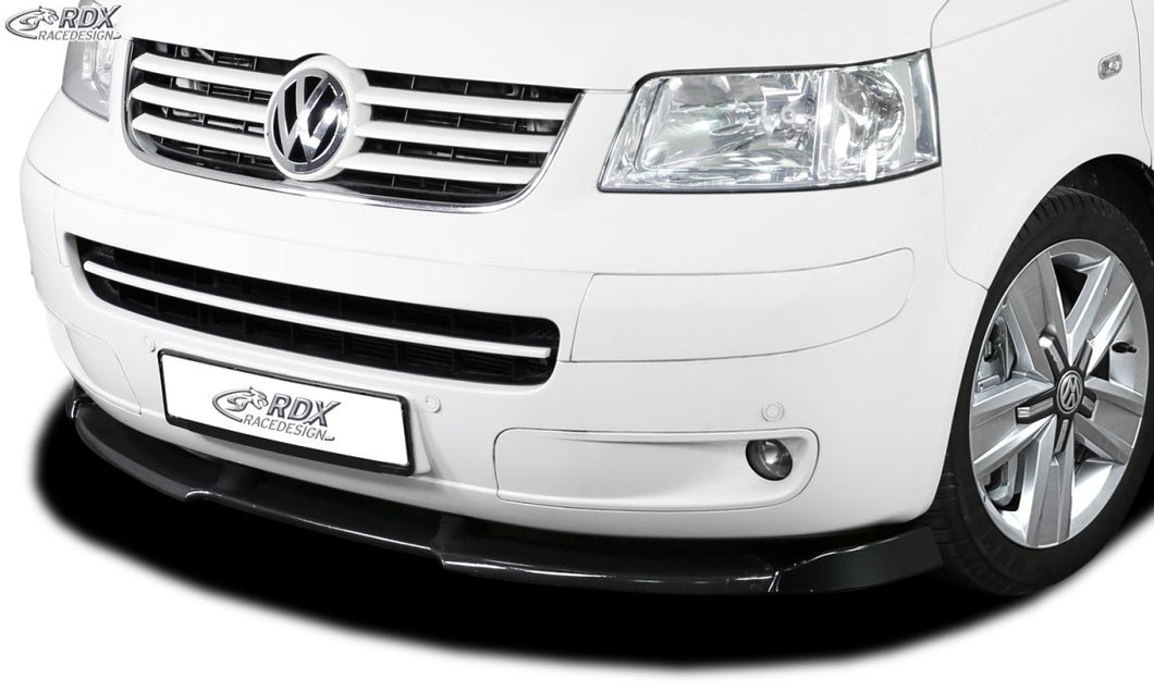 LK Performance RDX Front Spoiler VARIO-X VW T5 -2009 (for painted bumper, like Multivan, …) Front Lip Splitter - LK Auto Factors