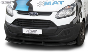 LK Performance RDX Front Spoiler VARIO-X FORD Transit Custom / Tourneo Custom 2012+ Front Lip Splitter - LK Auto Factors