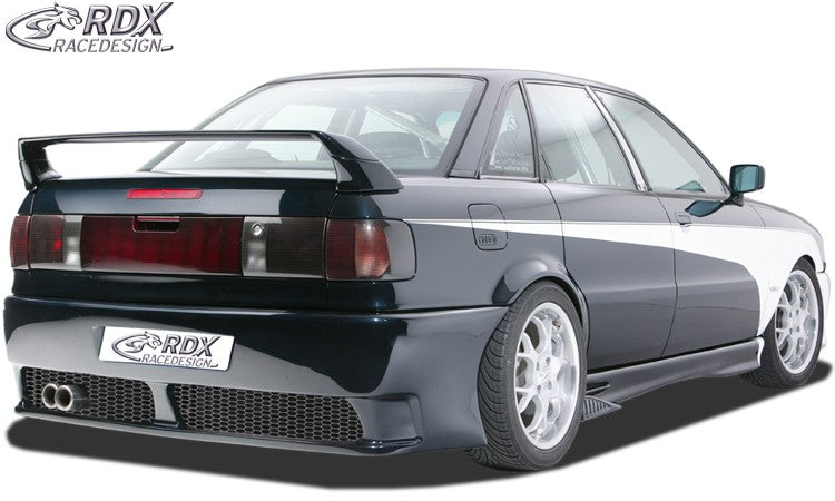 "Rear bumper AUDI 80-B3/B4 seadn/Avant with numberplate ""GT4"" - LK Auto Factors"