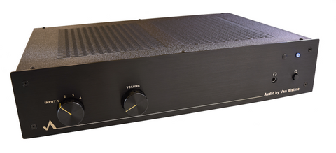 Fet Valve CF RB preamplifier with built in Vision Q phono preamp
