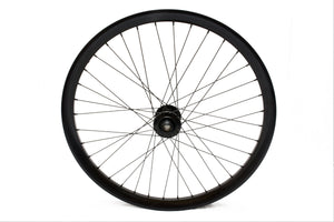 "24"" Stealth Bike Front Wheel (black)"