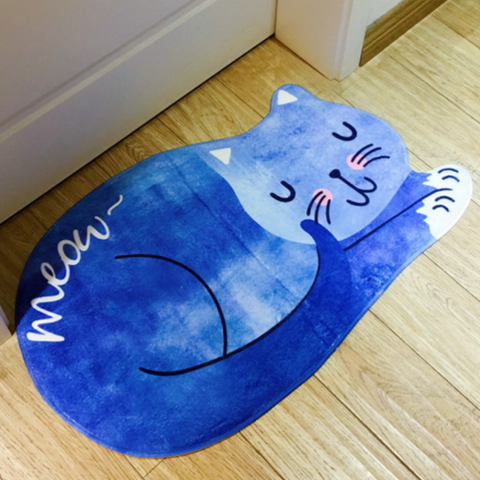 Image of cat bathroom rug - Cute Cats Store